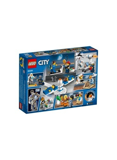 Lego LEGO City İnsan Paketi Uzay Araştırma ve Geliştirme Renkli